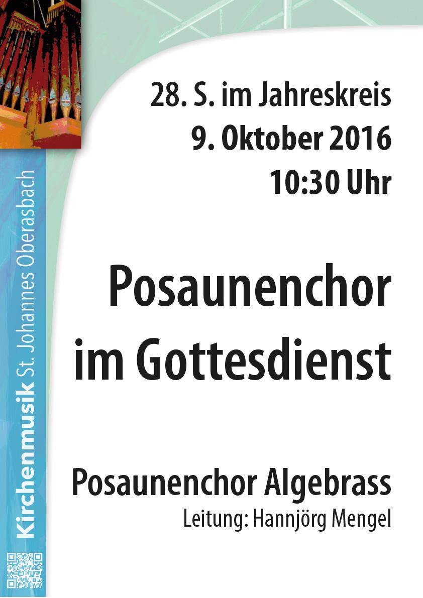 Plakat nächstes Konzert