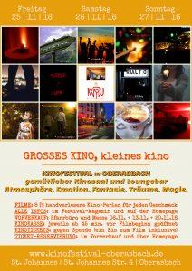 Kinofestival-Plakat