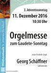 Orgelmesse zu Gaudete