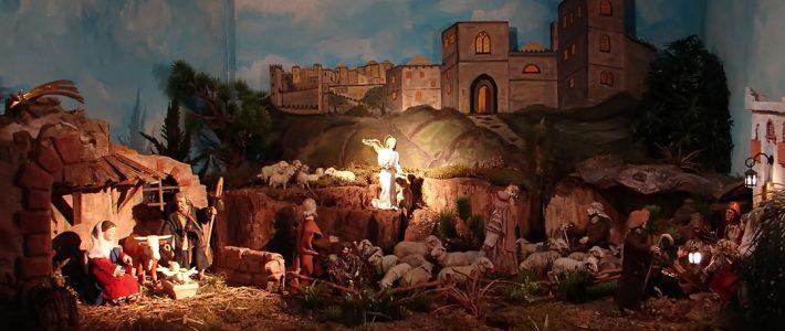 Jahreskrippe: Die Geburt Jesu