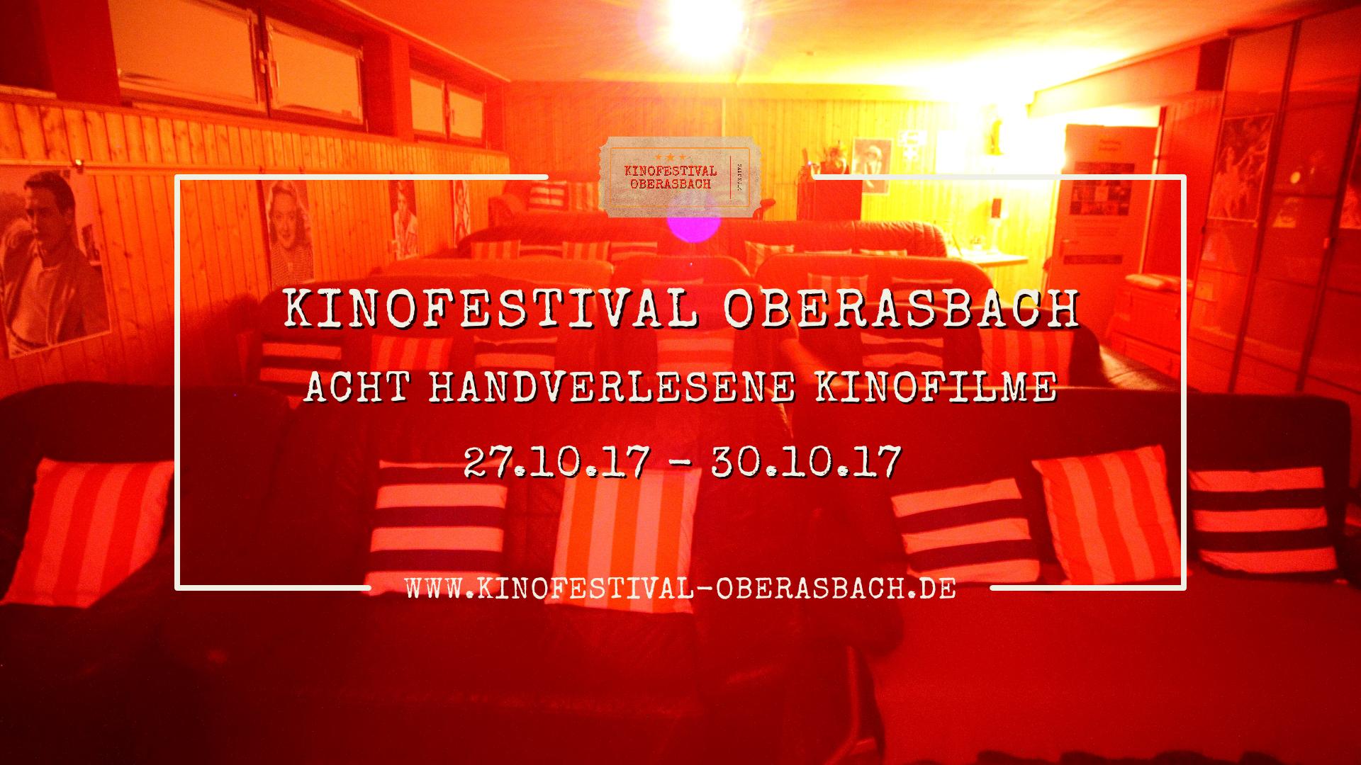 Werbebild Kinofestival Oberasbach