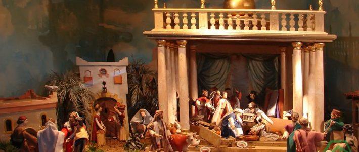 Jahreskrippe: Die Tempelreinigung
