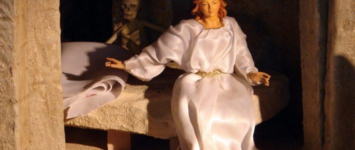 Jahreskrippe: Die Auferstehung
