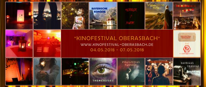 Kinofestival Oberasbach: 04.-07. Mai 2018