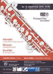 Symphoniekonzert: Die jungen Fürther Streichhölzer