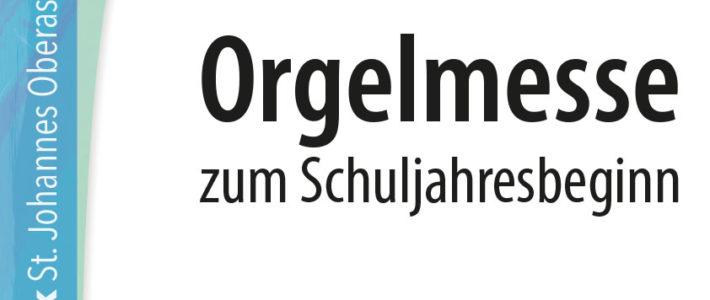 Orgelmesse mit Benedikt Ofner