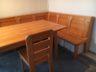 Eckbank und Tisch aus Pfarrhaus abzugeben