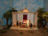 Jahreskrippe: Jesu Darstellung im Tempel