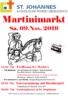 Herzliche Einladung zum Martinimarkt