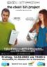 Kino in unserem Pfarrzentrum: The clean bin project