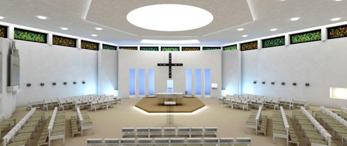 Vorstellungsabend Kircheninnenraumes