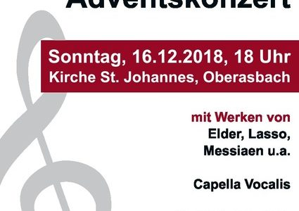 Adventskonzert der Capella Vocalis