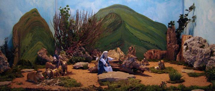 Jahreskrippe: Jesaja 11, 1 – 10