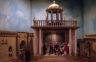 Jahreskrippe: Die neue Lehre in der Synagoge